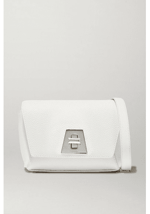 Akris - Anouk Textured-leather Shoulder Bag - White