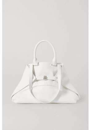 Akris - Aicon Textured-leather Tote - White