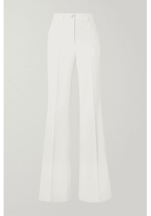 Akris - Farid Stretch Cotton-blend Straight-leg Pants - White