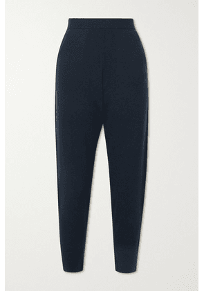 Allude - Cashmere Tapered Pants - Navy