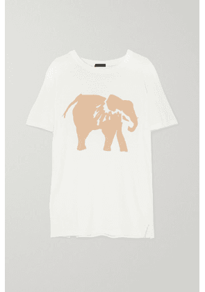 Bassike - + Space For Giants + Sofia Salazar Printed Organic Cotton-jersey T-shirt - White