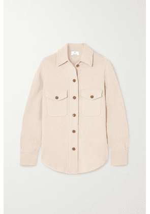 Allude - Wool And Cashmere-blend Shirt - Beige