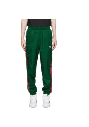 adidas Originals Green 3D Trefoil 3-Stripes Lounge Pants