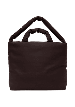 Kassl Editions Burgundy Rubber Large Tote
