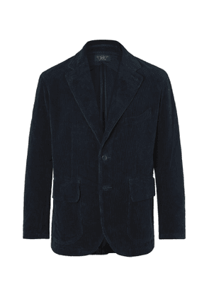 RRL - Wakelin Unstructured Cotton-Corduroy Blazer - Men - Blue