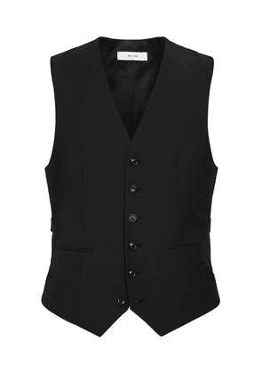 Reiss Hope - Modern Fit Travel Waistcoat in Black, Mens, Size 34