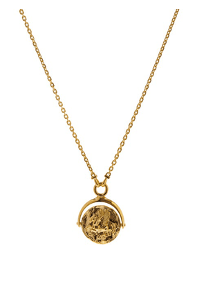 Tom Wood - Pegasus-pendant Gold Plated-silver Necklace - Mens - Gold