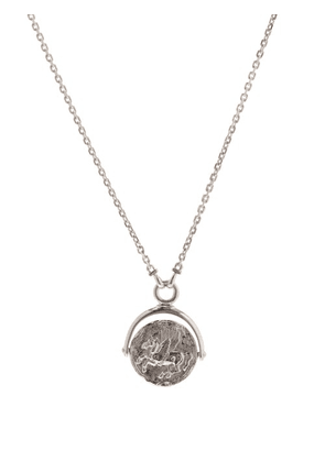 Tom Wood - Pegasus-pendant Sterling-silver Necklace - Mens - Silver