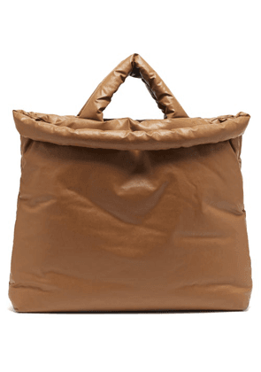 Kassl Editions - Oil Large Padded Canvas Tote Bag - Mens - Camel