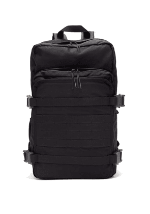 1017 ALYX 9SM - Camping Rollercoaster-buckle Backpack - Mens - Black