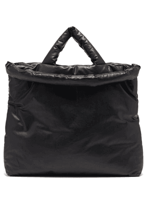 Kassl Editions - Oil Large Padded Coated-canvas Tote Bag - Mens - Black
