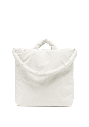Kassl Editions - Oil Medium Padded Cotton-blend Canvas Tote - Mens - White