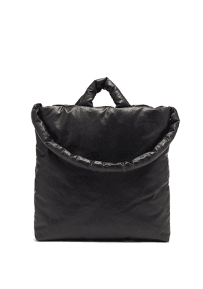 Kassl Editions - Oil Padded Cotton-blend Canvas Tote Bag - Mens - Black
