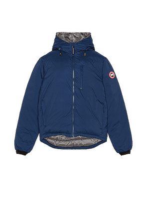Canada Goose Lodge Hoody in Blue. Size L,S,XL.