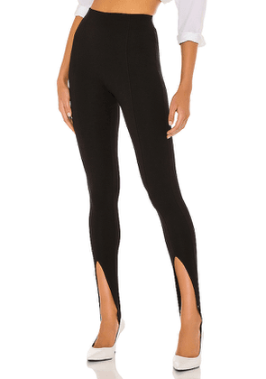 NBD Kiki Stirrup Legging in Black. Size M,S,XL,XS,XXS.