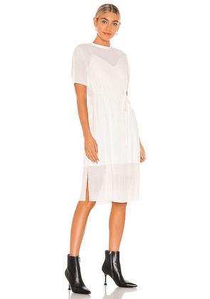 ALLSAINTS Kano Dress in White. Size 00,2,4,6.