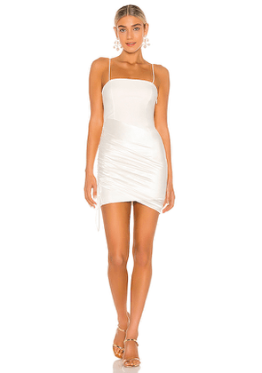 Cinq a Sept Juliette Dress in White. Size 00,2,4,6,8.