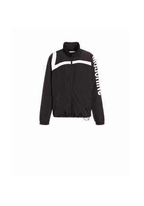 Nylon Windbreaker With Logo