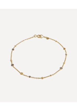 Gold and Platinum Scattered Dust Bracelet