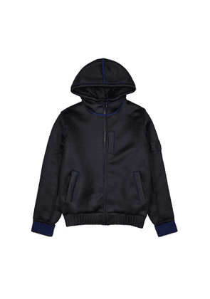 Stone Island Shadow Project Midnight Blue Padded Knitted Jacket