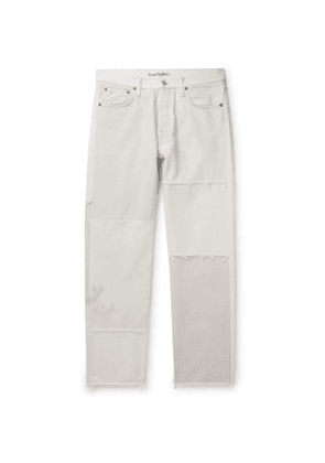 Acne Studios - Two-Tone Distressed Denim Jeans - Men - Gray