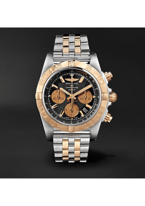 Breitling - Chronomat B01 Automatic Chronograph 44mm Stainless Steel and Gold Watch, Ref. No. CB0110121B1C1 - Men - Black