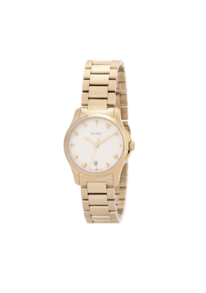 G-Timeless Small gold-plated stainless steel watch