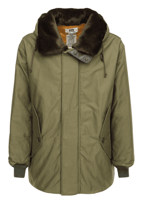 Cotton Canvas Parka