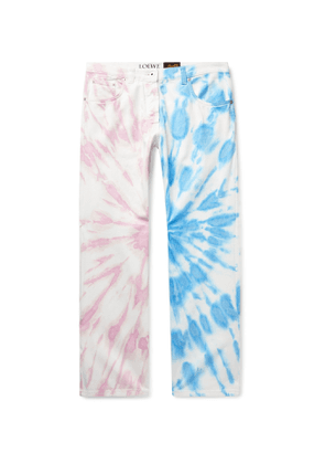 Loewe - Paula's Ibiza Tie-Dyed Denim Jeans - Men - Multi