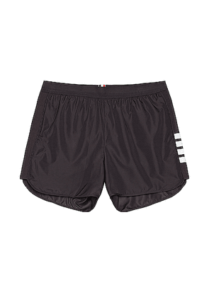 Thom Browne Running Shorts in Charcoal - Black. Size 4 (also in ).