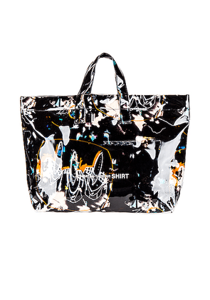 Comme Des Garcons SHIRT Futura Print Tote Bag in Print A - Abstract,Black. Size all.
