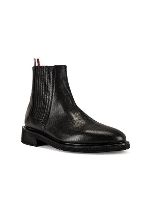 Thom Browne Chelsea Boot in Black - Black. Size 10 (also in 11,12,9).