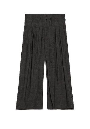 Sasquatchfabrix Hakama Pants in Ash Gray - Gray. Size L (also in M,S).