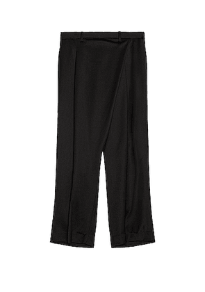 Sasquatchfabrix Wrap Pants in Black - Black. Size L (also in M,S).