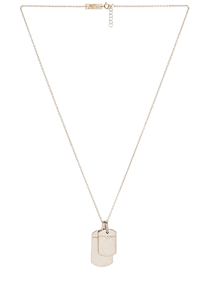 Maison Margiela Necklace in Silver - Metallic Silver. Size all.