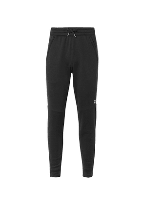 Under Armour - UA Recover Slim-Fit Tapered Jersey Sweatpants - Men - Black