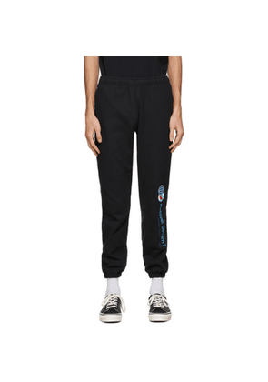 Rassvet Black Logo Sweatpants