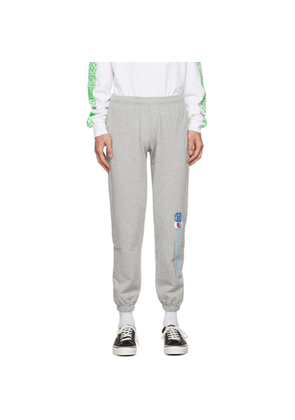 Rassvet Grey Logo Sweatpants