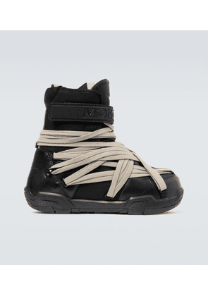 Moncler + Rick Owens lace-up moon boots