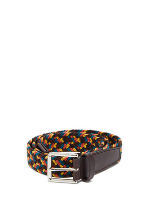 Paul Smith - Braided Cord-lace Belt - Mens - Multi