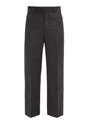 Our Legacy - Recycled-shell Chino Trousers - Mens - Black