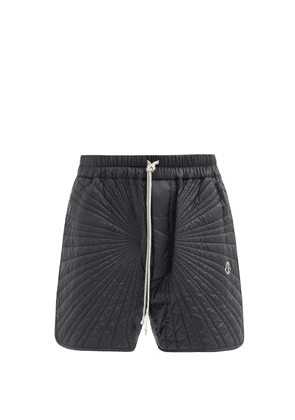 Moncler + Rick Owens - Radiance Drawstring Quilted Down Shorts - Mens - Black