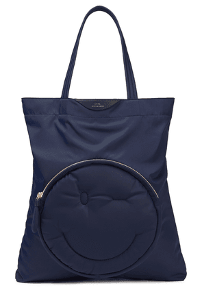 Anya Hindmarch Quilted Shell Tote Woman Navy Size --