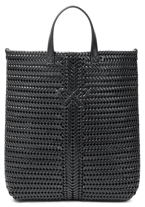Anya Hindmarch Braided Leather Tote Woman Black Size --