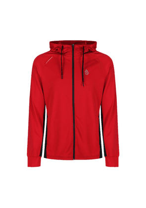Luke 1977 Key Tech Red Zip Through Hoody