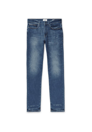 FRAME - L'Homme Athletic Denim Jeans - Men - Blue