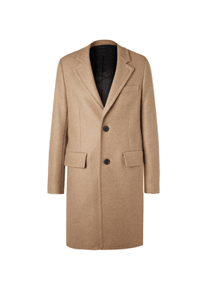 AMI - Wool-Blend Coat - Men - Neutrals