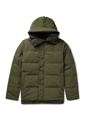 Canada Goose - Macmillan Quilted Shell Hooded Down Parka - Men - Green