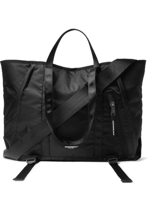 Indispensable - Webbing-Trimmed Recycled Shell Tote Bag - Men - Black