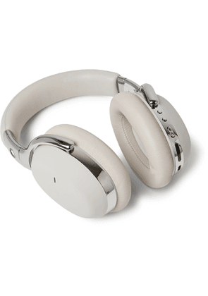 Montblanc - MB 01 Leather Wireless Headphones - Men - Silver